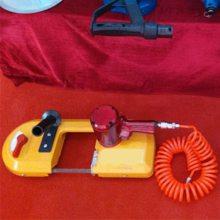 天德立FDJ120型气动线锯电缆锚杆煤矿管道切割风动带锯