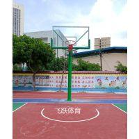 南宁固定篮球架地埋式篮球架通过国体认证标准篮球架