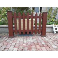 新疆栏杆华庭美居/厂家直供塑木围栏美观耐用/精河塑木园艺栏杆物美价廉加工定制