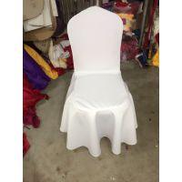 婚庆弹力椅套 加厚酒店饭店宴会 婚礼装饰连体弹力椅子套 椅背套