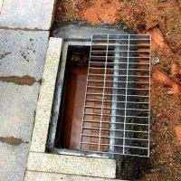 烟台市政绿化钢格板树池箅子 钢格栅板直销厂家 道路排水雨篦子