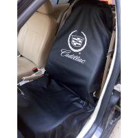 汽车重复使用座椅套/皮革座套/插图印刷logo/免费设计