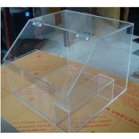 上海金山厂家定做高透明亚克力展示架、有机玻璃展示柜 亚克力盒子