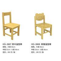 幼儿园原木系列桌椅