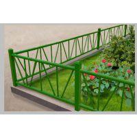 四平仿竹篱笆栅栏,四平仿竹草坪护栏,HC烤漆草坪围栏,喷塑围墙栏杆Q235
