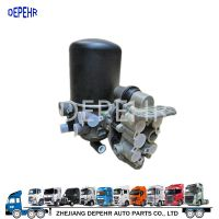 浙江德沛提供优质欧系重型卡车制动系修理件iveco依维柯压缩空气干燥器总成41285077