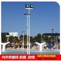 三亚户外照明球场LED灯 灯杆灯具配套定制 6米篮球场灯杆价格