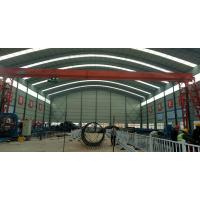 河南省新东方山西路桥项目钢筋棚龙门吊