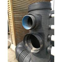 江苏水封井厂家,翔凤水封井价格,HDPE双壁波纹管,缠绕管厂家