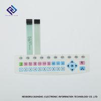 PET面板,压鼓按键的薄膜开关用于工业控制、仪器仪表
