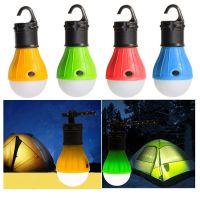 新款3LED户外野营灯 节能球型灯炮灯 户外野营灯 工作灯 野外灯