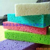 木浆棉抹布 面部清洁化妆湿海绵 彩色保湿卸妆洗脸木浆棉生产厂家