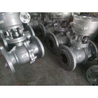 涡轮传动浮动式球阀DN125 铸钢涡轮球阀Q341F-40C DN150 永嘉精拓阀门厂