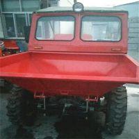 金尔惠加大轮胎柴油翻斗车 广泛实用工地翻斗车 加工定制好产品前翻斗