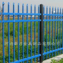 别墅庭院小区围墙塑钢护栏厂家批发 锌钢围墙护栏