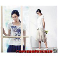 丽比多18时尚休闲棉麻系列女装品牌折扣尾货走份批发一手货源