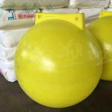 警示浮标厂家加工 直径600MM塑料浮标