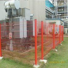 惠州防盗型护栏厂 广州双横丝围栏 厂区防护网 桃型柱机场安装