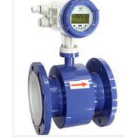 DN100污水、泥浆和矿浆流量测量橡胶衬里电磁流量计
