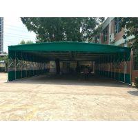 上海奉贤区仓库储货蓬专业定做轮式推拉帐篷工厂遮阳棚物流园活动雨棚布