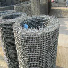 坚固轧花网 黑钢轧花网 铁丝网编织