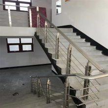 热销高档设计结构楼梯玻璃栏杆立柱 金裕