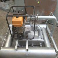 挖藕机 新一代船式多功能高压挖藕机