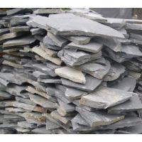 乱形青石板常用规格 天然板岩青石板乱形园林铺路石材 脚踏石