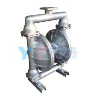 QBY-25气动隔膜泵铝合金配F46膜片