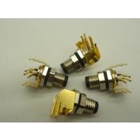 M8-4P弯针PCB式带挡板传感器型接头西赛姆(深圳)科技