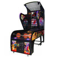 悠悠谷 豪华篮球机自动投篮游戏机 亲子乐园投币出扭蛋彩票篮球机