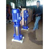增压泵多少钱 温州众度泵业 40GDL6-12X10 4KW