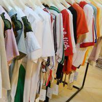 品牌折扣女装17夏新款棉T 正品专柜一手货源批发走份 进货渠道