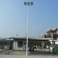 雅浩生产篮球场LED灯柱 广西羽毛球场灯柱 锥形中杆灯价格