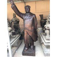 河北铸铜厂定做红色革命雕塑抗战人物铜像红色景区人物摆件抗日英雄雕塑