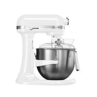 KITCHENAID厨宝打奶油机奶油搅拌机台式搅拌机厨师机白色6.9L