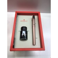 西安高档礼品笔 MONTAGUT法国梦特娇礼品钢笔 私人企业钢笔免费刻字