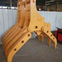 挖掘机大铲车抓木器工厂直销欢迎来电15853707319