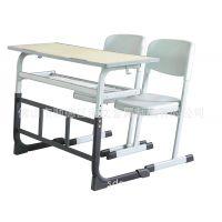 厂家直销学生台 绿色双人课桌椅 升降 金属双人位台来图定制定制