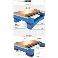 长治 优质枫木A篮球场运动木地板 专业体育木地板生产厂家 全国施工