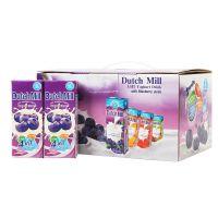 达美酸奶180m*12/箱 蓝莓味礼盒装 泰国进口酸奶批发 乳饮料