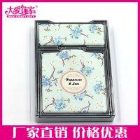深圳促销赠品化妆镜 PU皮革方形折叠随身镜子出口欧洲环保品质可LOGO设计