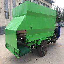 现代化科技养殖撒料车 润众 先进的青贮撒料车