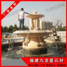 供应石雕水钵 石材水钵 流水喷泉雕塑