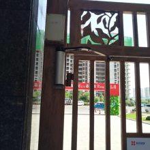 广州从化曲臂式自动闭门器厂家 冷雨大品牌曲臂电动平开门LEY700HD 小区人行通道刷卡闭门器电机