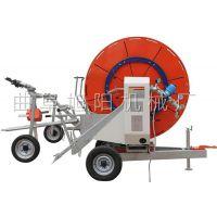 新品直销大面积浇地机自走式农田灌溉机旭阳水涡轮喷洒机