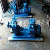 65ZW40-25卧式自吸泵无堵塞排污泵 分体式 电机另配 上海消泉泵业专业生产