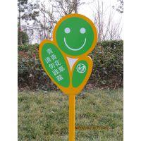 景区指示牌,花草牌现货批发,绿化牌,异形牌