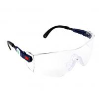 3M 10196护目镜 防尘 防飞溅 防紫外线 防护眼镜 骑车防风 1个 1副