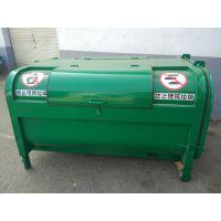 环卫大容量垃圾箱 三方垃圾箱 铁质垃圾桶价格实惠